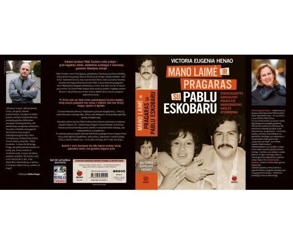 PABLO ESKOBARO našlės atsiminimai su Kalėdiniais pasveikinimais + autografu !!! Victoria Eugenia Henao knyga